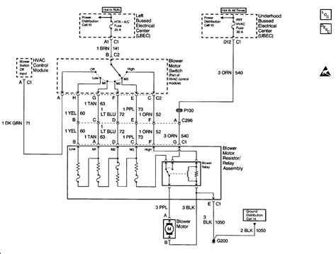 2004 chevy silverado blower motor resistor wiring diagram chevy wiring diagram blower not working get free image about wiring diagram