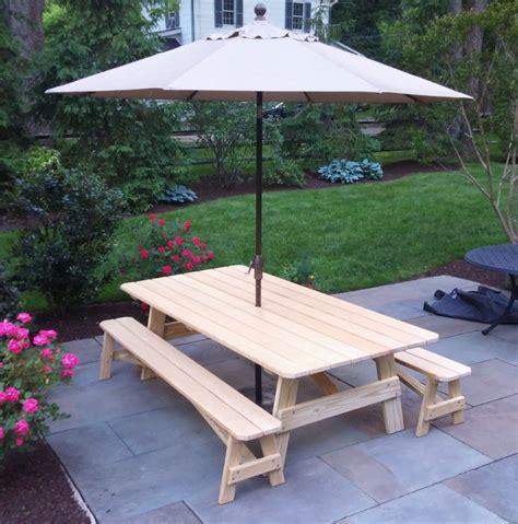 custom picnic tables custom 8 pine picnic table country furniture