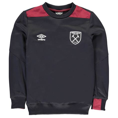 Sweater West Ham United H02 Qlep umbro west ham united fc sweatshirt juniors football soccer top sweater pullover ebay
