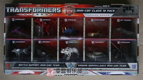 Minicon Retail new universe minicon 10 pack sighted at retail transformers news tfw2005