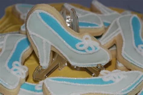 cinderella slipper cookies princess sugar cookies inspired by cinderella s glass