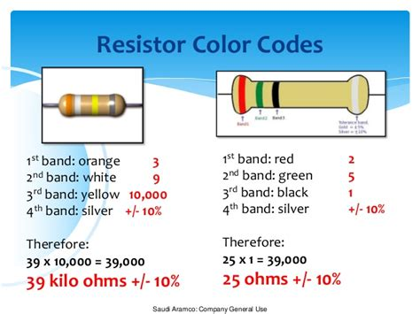resistor band questions resistor color coding