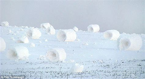 what causes snow rollers