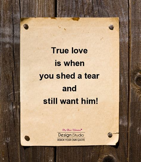 You Can Shed A Tear by Inseparable Quotes Images