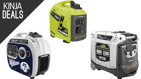 home depot s discounting several portable generators