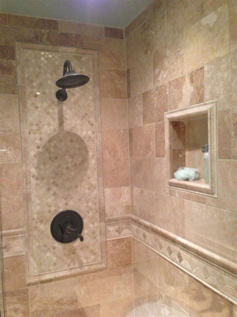 tile designs for bathroom walls pictures of bathroom walls with tile walls which incorporate a tile design set in in the