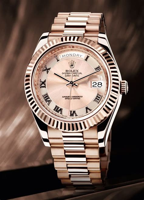 Rolex Datejust Combi Rosegold rolex day date in everrose gold clothing style stuff
