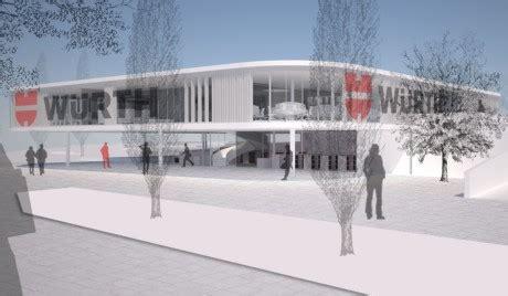 Audi Zentrum Weinheim by Projekte Architekturb 252 Ro Kergassner