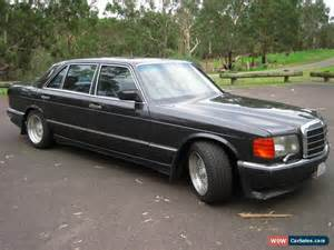 1987 Mercedes 420 Sel Mercedes S Class For Sale In Australia