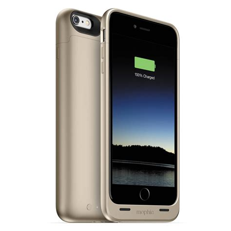 iphone b h mophie juice pack for iphone 6 plus 6s plus gold 3086 b h