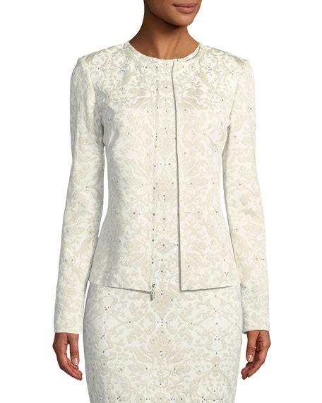 40486 Brocade Lace Knit nic zoe sleeve lacy knit sheath dress plus size neiman