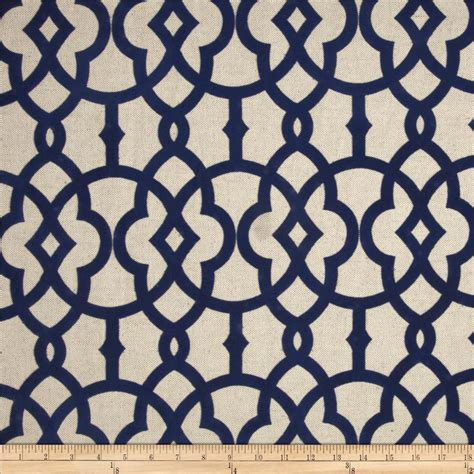 navy lattice curtains home accents jotto flocked navy discount designer fabric