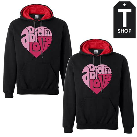 hoodie design for couples addicted couple hoodies from t shop couple hoodies