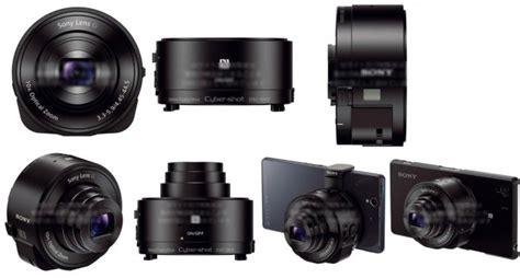 Lensa Sony Qx aksesori lensa sony untuk perangkat android akan