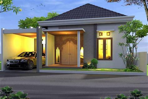 model rumah minimalis  tampak depan  lantai content