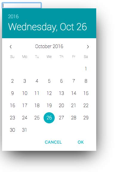 datepicker date format change javascript angularjs angular material md datepicker directive