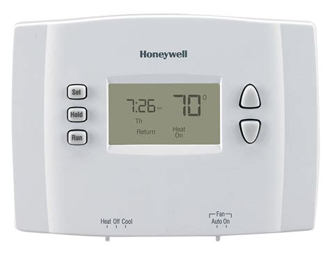 comfort one heating and cooling 1 week programmable thermostat rth221b1021 honeywell