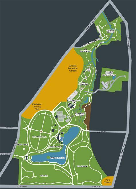 100 map of midtown atlanta transportation guide atlanta