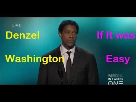 denzel washington speech transcript motivational speech by denzel washington youtube