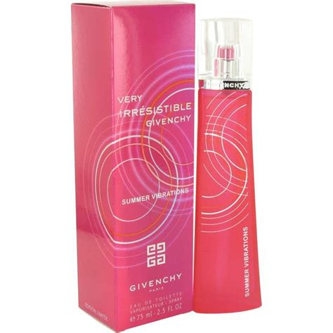 Special Promo Givenchy 1398 irresistible summer vibrations perfume by givenchy buy perfume