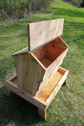 How To Build Deer Feeder woodwork how to build a wood deer feeder pdf plans