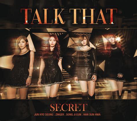 secret album talk that secret album