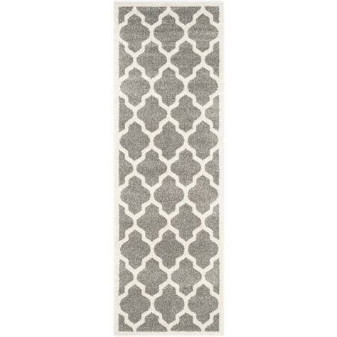 Indoor Outdoor Rug Runner Safavieh Amherst Grey Indoor Outdoor Rug Runner 2 3 Quot X 11 Amt420r 211
