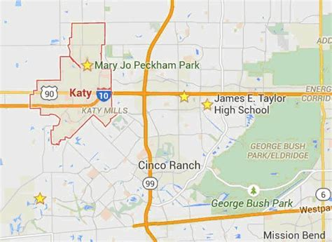 katy texas map katy vs sugar land
