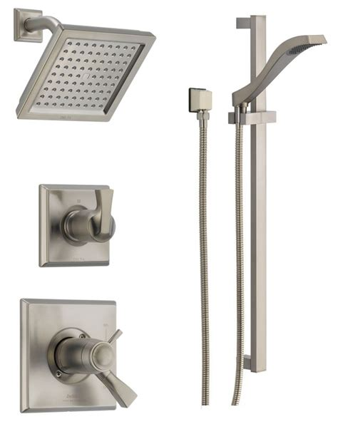Delta Dryden Shower by Faucet Dss Dryden 17t01ss In Brilliance Stainless By Delta