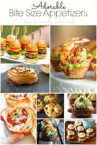 Guests love perfect bite size appetizers at parties no fork needed