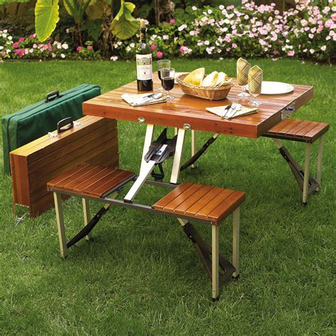 picnic bench dining table picnic table portable in patio dining tables