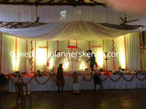 Sandra & Shabin's Traditional Hindu Stage Decoration by