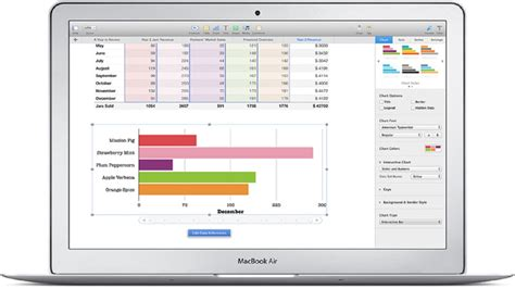 Apple Spreadsheet Software by Numbers For Mac