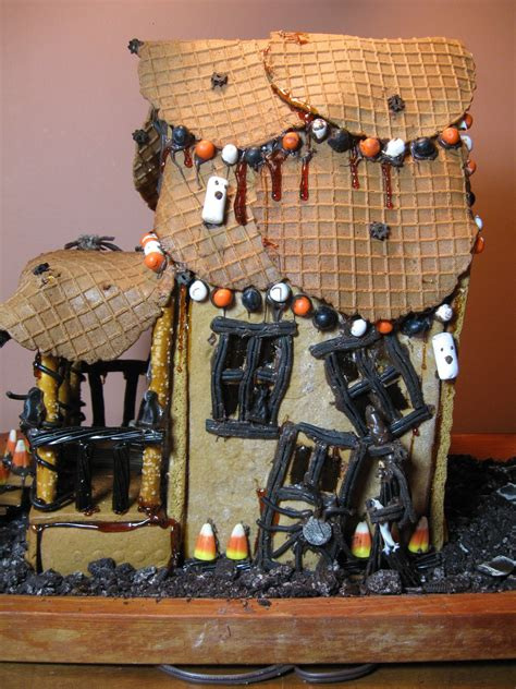 How To Make A Haunted House Out Of Paper - licorice international how to make a gingerbread