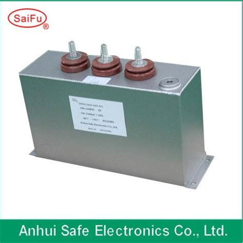 filled high voltage capacitor 3000uf filled capacitor spplied to high voltage equipment saifu china manufacturer