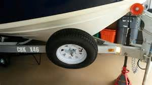 Trailer Tire Locked Up Boat Trailer Accessories Spare Tire Carrier Offset