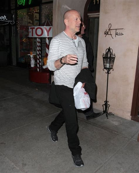 Is Bruce Willis Going Out With by I Used To Do A Stunt In Almost Every Mov By Lorenzo Di