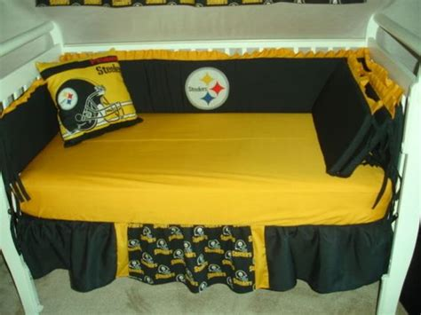 Steelers Crib Bedding Set The World S Catalog Of Ideas