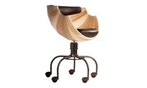 Chaise De Bureau De Design Confortable Et Chic Chaise De Bureau En Bois
