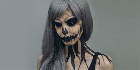 imagenes halloween para la cara 20 maquillajes que t 250 misma te puedes hacer para halloween