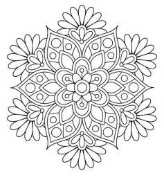 25 flower coloring pages ideas mandala coloring pages coloring pages