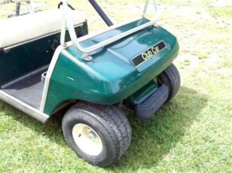1998 club car golf cart a 1998 club car golf cart 5 22 10 mov youtube
