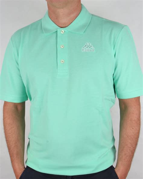 Shirt Green Light kappa omini polo shirt light green mens