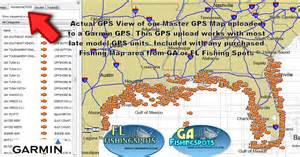 fishing map of florida guide to coastal fishing spots fishing areas