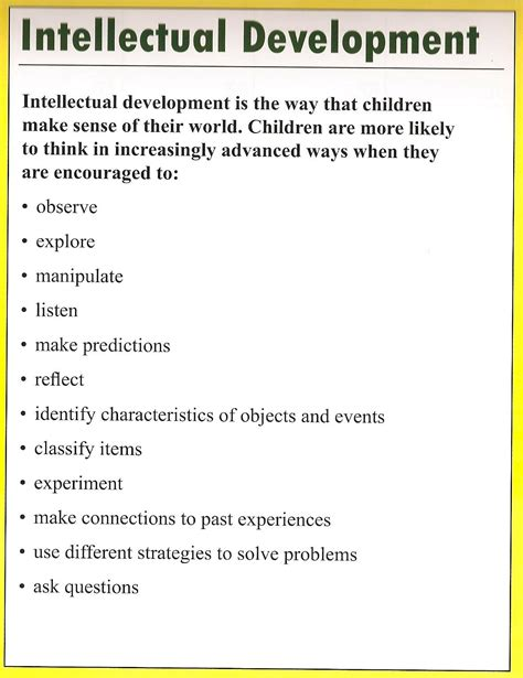 4 major signs of physical development in early childhood