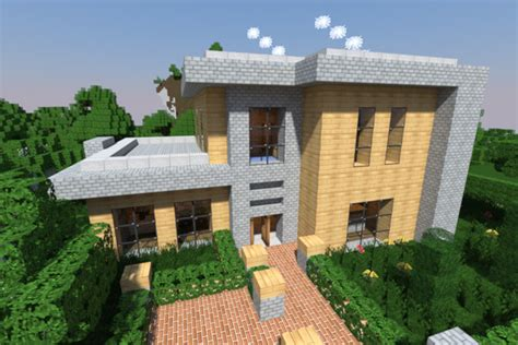 Large One Story Homes 20 Modern Minecraft Houses Nerd Reactor
