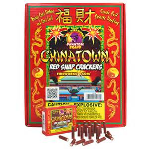 phantom fireworks products chinatown red snap cracker 20