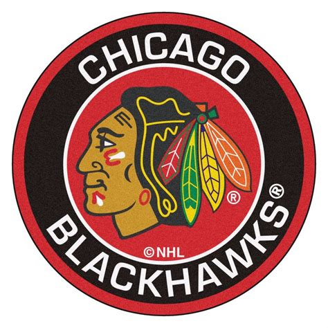 blackhawks rug chicago blackhawks 27 quot roundel area rug floor mat ebay