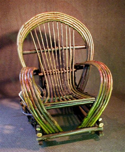 Willow Chairs by Custom Rustic Furniture By Don Mcaulay Bent Willow Rocking