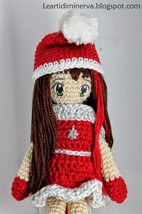 patterns christmas dolls christmas amigurumi doll free crochet pattern crochet